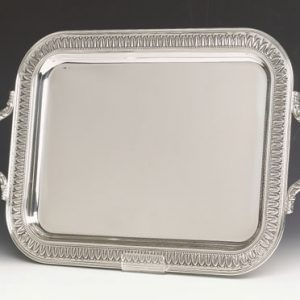 Tray, Silver Plate Rectangular
