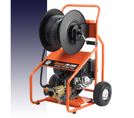 Snake, Water Jet- Gasoline Powered Jetter