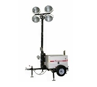 Light, Tower 30' Towable Diesel 4000W