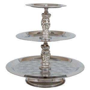 Tray, 3 Tier Round