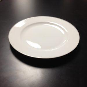 "CHINA, DINNER PLATE 10""-WHITE"