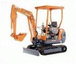 Excavator, Compact - Tractor Backhoe