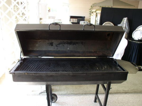 """Grill, Charcoal (60"""" x 20"""" covered)"""