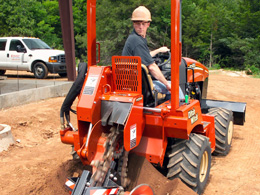 Trencher, RT45 Ditchwitch Tractor